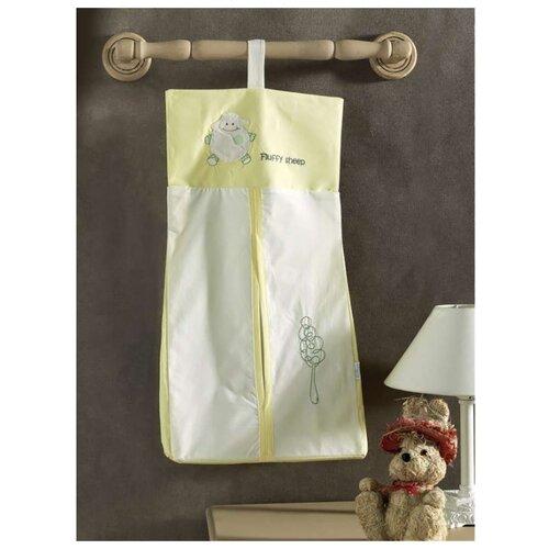 Купить Прикроватная сумка Kidboo серии Fluffy Sheep размер 30*65 (стандарт), Органайзеры и карманы в кроватку