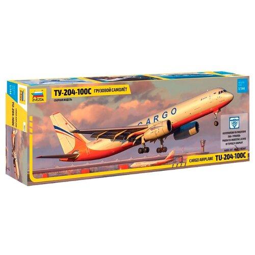Купить Сборная модель ZVEZDA Грузовой самолет нового поколения Ту-204-100С (7031) 1:144, Сборные модели