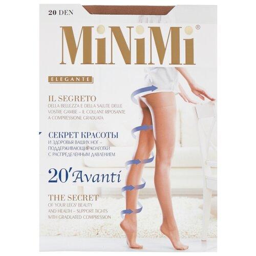 Колготки MiNiMi Avanti 20 den, размер 4-L, daino (бежевый) колготки minimi avanti 20 den размер 2 s m daino бежевый