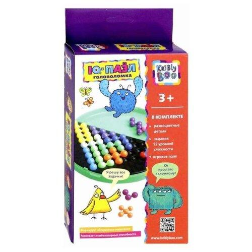 Купить Головоломка Kribly Boo IQ-пазл (66512) зеленый/разноцветный, Головоломки