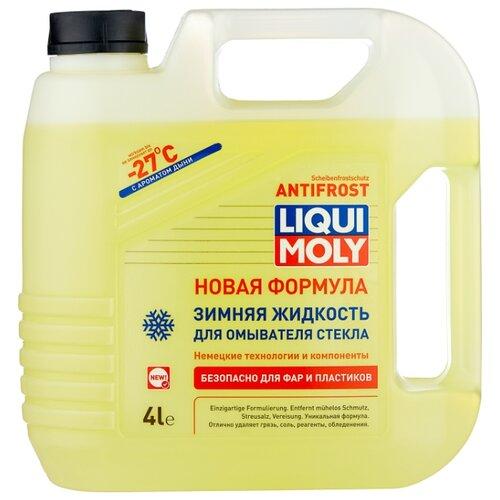 Жидкость для стеклоомывателя LIQUI MOLY ANTIFROST Scheiben-Frostschutz, -27°C, 4 л