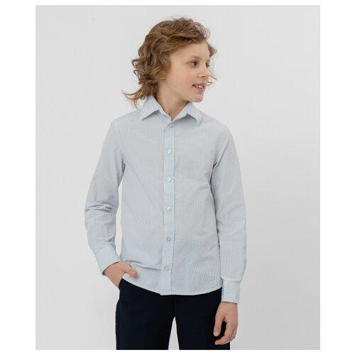 цена на Рубашка Button Blue размер 146, серый