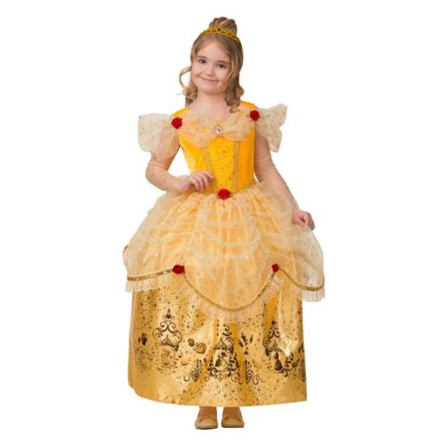 Купить Костюм Батик Принцесса Белль (1927), желтый, размер 134, Карнавальные костюмы