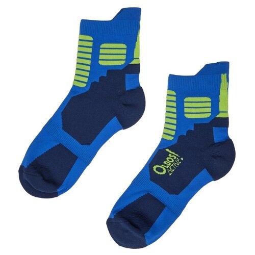 Носки Oldos размер 23-25, синий/темно-синий