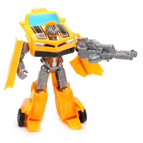 Купить Трансформер CHIO Toys Fast Racing Robot 2126 желтый/серый, Роботы и трансформеры