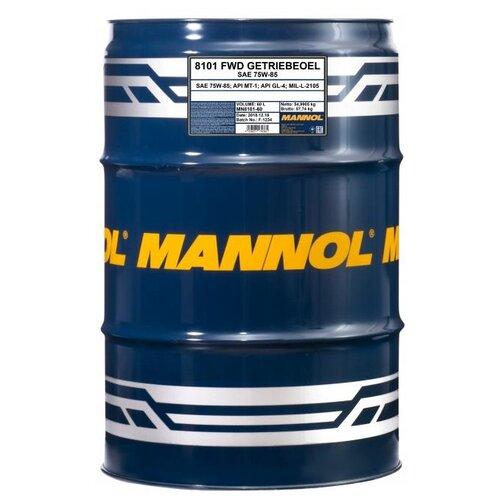 Трансмиссионное масло Mannol FWD Getriebeoel 75W-85 60 л свитшот fwd lab fwd lab mp002xw1h3u0
