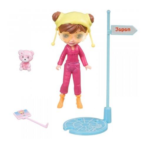 Купить Игровой набор Bondibon куколка OLY путешественница, 11.5 см, BB4312, Куклы и пупсы