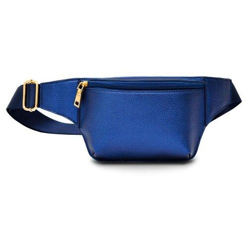 Фото - Сумка поясная Феникс+, искусственная кожа, синий сумка поясная solo искусственная кожа желтый