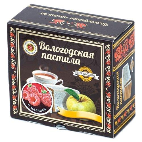 Пастила Вологодская мануфактура с малиной без сахара, 115 г