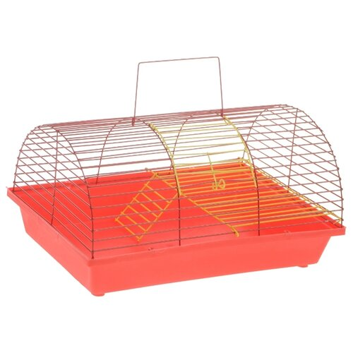 Клетка для грызунов Зоо Марк 110Ж 36х23х17.5 см красный