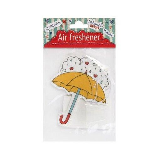 Феникс Present Картонная подвеска Желтый зонт