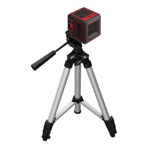 Лазерный уровень самовыравнивающийся ADA instruments CUBE 3D Professional Edition (А00384) со штативом лазерный уровень самовыравнивающийся ada instruments cube 3d home edition а00383