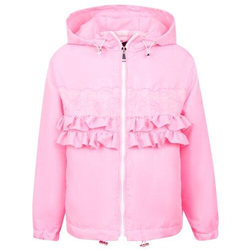 Купить Ветровка Ermanno Scervino 46ICP06 размер 164, розовый, Куртки и пуховики