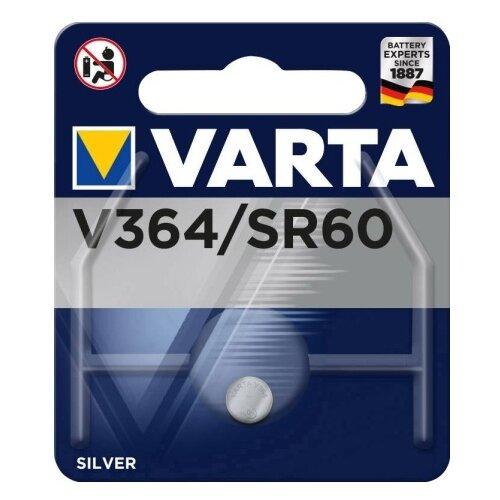 Фото - Батарейка VARTA V364, 1 шт. батарейка varta cr p2 1 шт