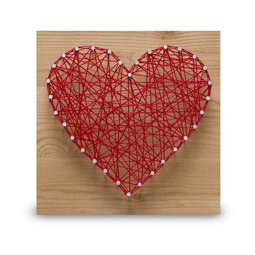 Купить Набор для творчества стринг арт Сердце , String Art Lab, Поделки и аппликации