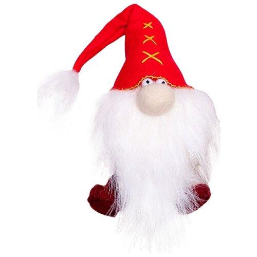 Купить Перловка Набор для создания текстильной игрушки из фетра Красный гном (ПФГ-1551), Изготовление кукол и игрушек