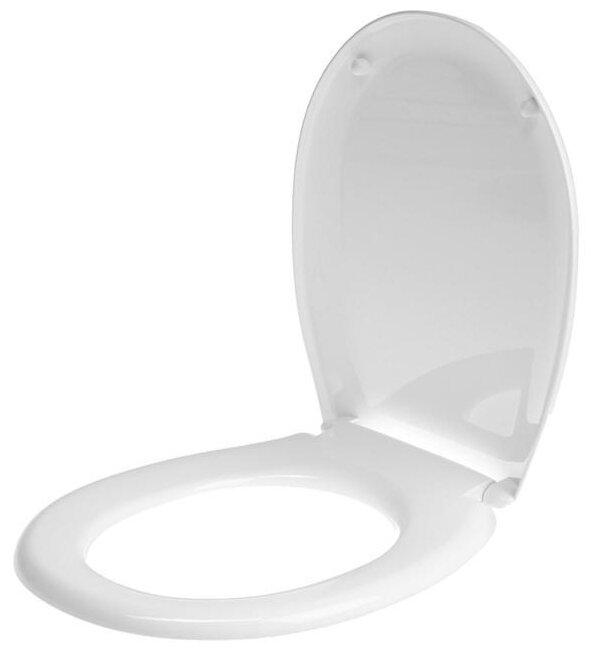 Крышка-сиденье для унитаза УКЛАД СУ 64.07.80/64.02.80 пластик
