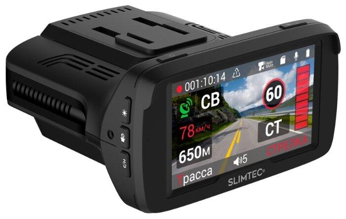 Видеорегистратор с радар-детектором Slimtec Hybrid X Signature, GPS, ГЛОНАСС фото 1