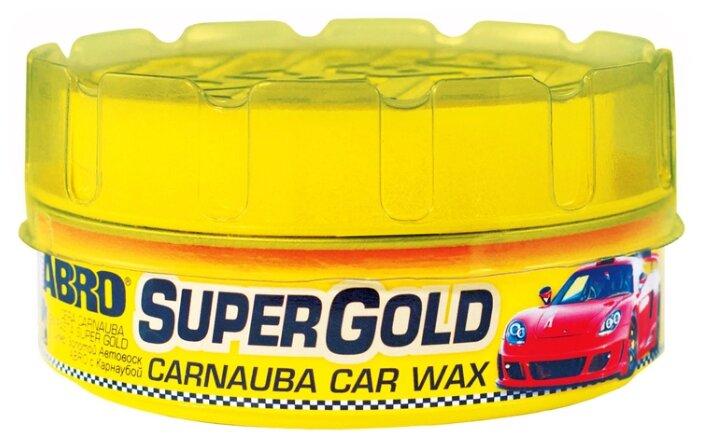 Воск для автомобиля ABRO Super Gold
