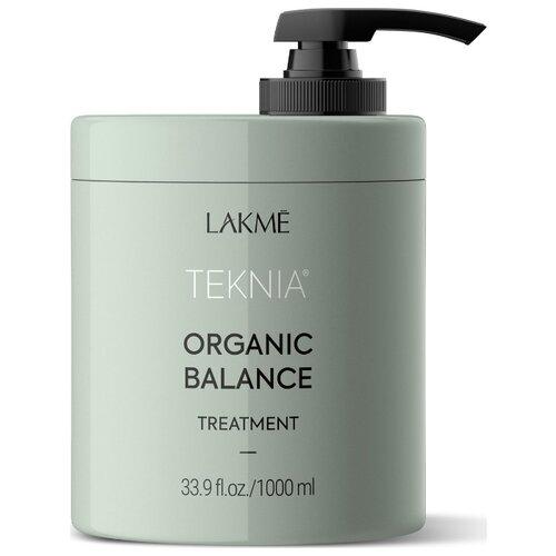 Купить Lakme Teknia Organic Balance Treatment Интенсивная увлажняющая маска для всех типов волос, 1000 мл