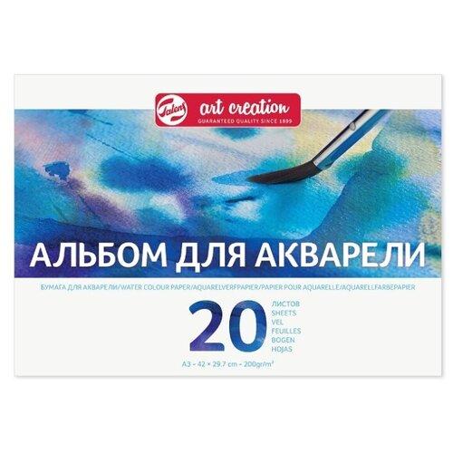 Купить Альбом для акварели Art Creation 200гр/м.кв А3 20л склейка по 1 стороне, Royal Talens, Альбомы для рисования