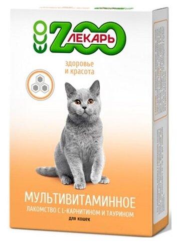 Добавка в корм ECO ZooЛекарь для кошек Здоровье и красота