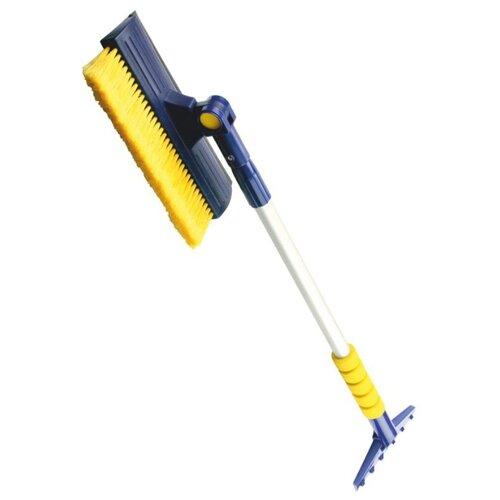 Телескопическая щетка-скребок GOODYEAR WB-08 синий/желтый