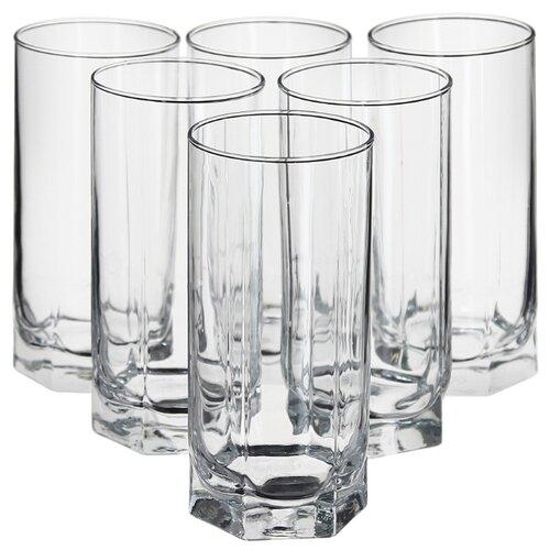 Pasabahce Набор стаканов Tango 440 мл 6 шт бесцветный