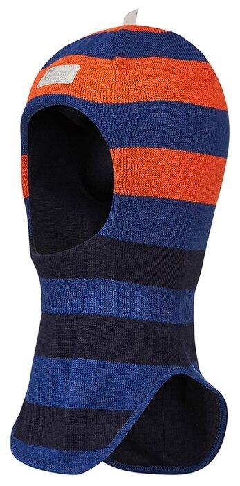 Шапка-шлем Oldos размер 52-54, оранжевый/синий