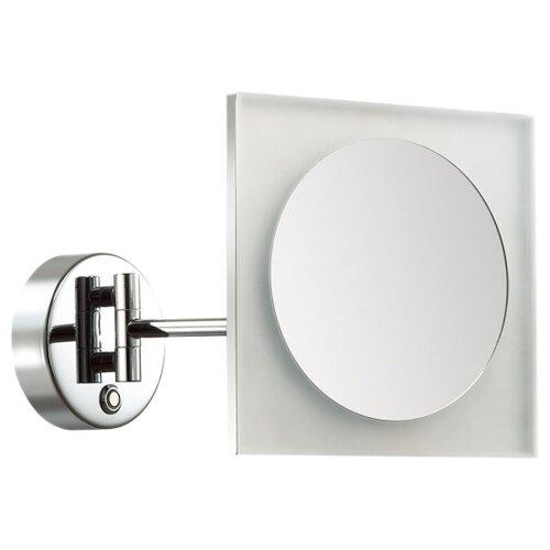 Зеркало косметическое настенное Odeon light 4679/6WL с подсветкой хром/белый
