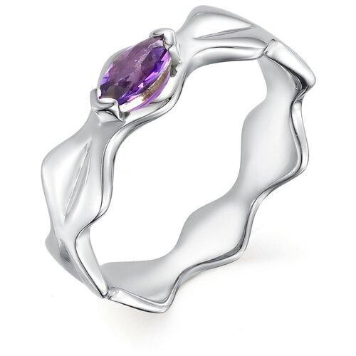 АЛЬКОР Кольцо с 1 аметистом из серебра 01-0503-00АМ-00, размер 17 алькор кольцо с 1 аметистом из серебра 01 0578 00ам 00 размер 17 5