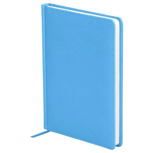 Ежедневник OfficeSpace Winner недатированный, искусственная кожа, А5, 136 листов, небесно-голубой ежедневник officespace winner недатированный искусственная кожа а5 136 листов розовый