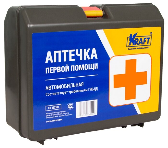 Аптечка автомобильная KRAFT KT 830100