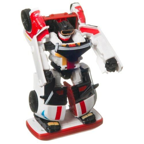 Купить Трансформер BONDIBON Bondibot 2 в 1 Минивэн ВВ4346 белый/красный, Роботы и трансформеры