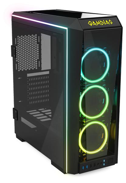 Компьютерный корпус GAMDIAS Talos P1A Black