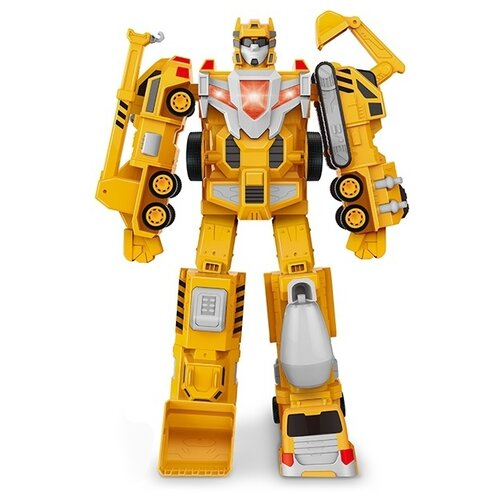 Трансформер Наша игрушка 677B2 желтый, Роботы и трансформеры  - купить со скидкой