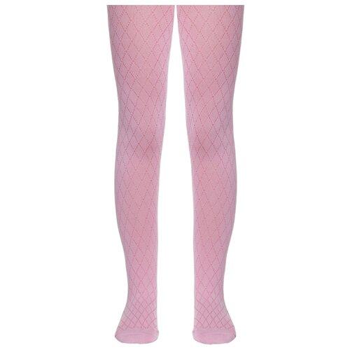Фото - Колготки Conte-kids BRAVO, размер 150-152, светло-розовый колготки принцессы светло розовый