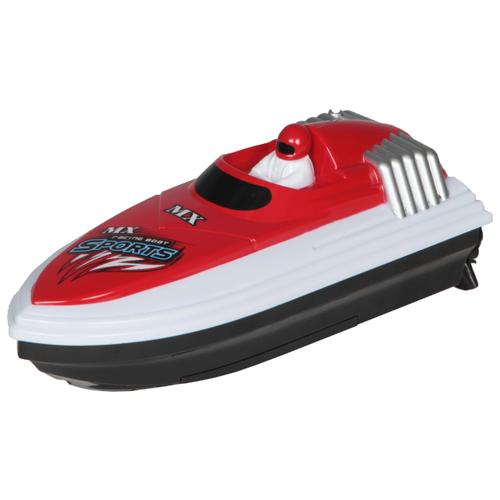 Катер Ming Xing Toys MX-0012-2 20 см красный/белый/черный недорого