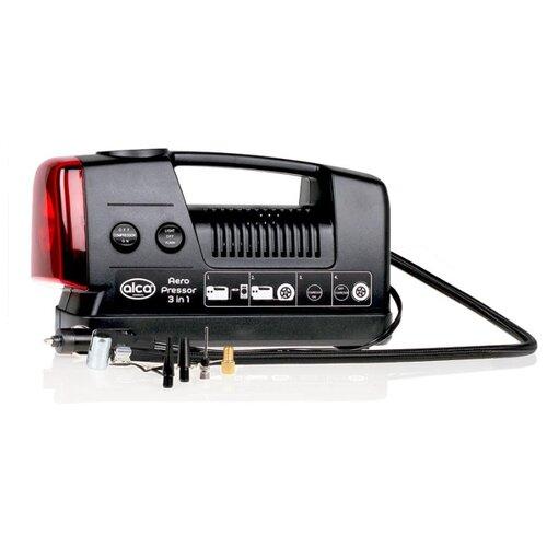 Автомобильный компрессор ALCA 219000 черный щётка alca 997100