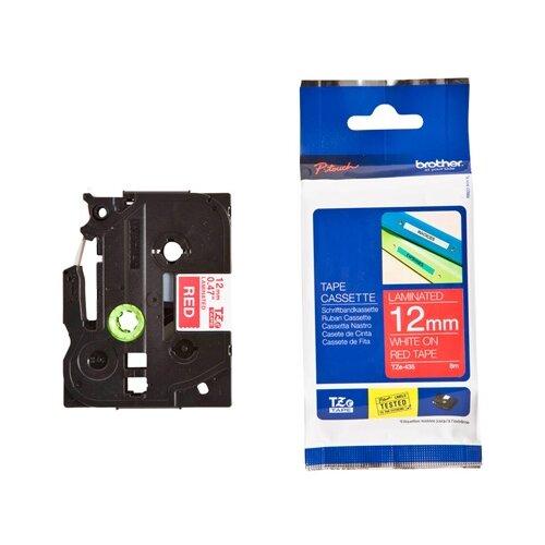 Фото - Картридж для принтера этикеток Brother, арт. TZe-435 (12 мм) картридж для принтера этикеток brother арт tze 253 24 мм
