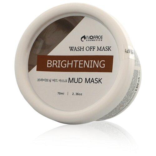 Inoface Осветляющая грязевая маска, 70 мл альгинатные маски inoface отзывы