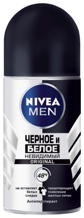 Антиперспирант ролик Nivea Men Невидимый для черного и белого