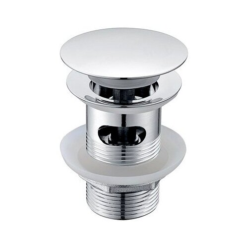 Фото - Донный клапан полуавтоматический для ванны, для раковины WasserKRAFT А024 донный клапан полуавтоматический для ванны для раковины wasserkraft а024