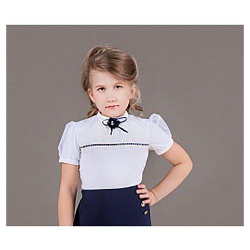 Блузка Инфанта размер 164-80, белый