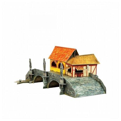 Купить Умная бумага 3D пазл - серия Средневековый город - Торговый мост 28 деталей (537), Умная Бумага, Пазлы
