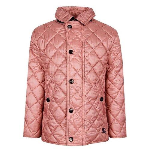 Куртка Burberry размер 86, розовый куртка burberry