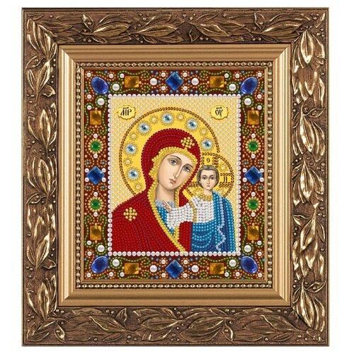 Купить NOVA SLOBODА Набор для вышивания бисером иконы Богородица Казанская 13 х 15 см (Д6025), Наборы для вышивания