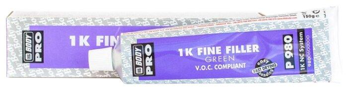 Шпатлевка HB BODY PRO P980 Nitro зеленый 0.15 кг