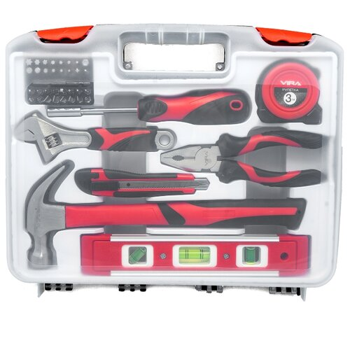 Набор инструментов Vira (40 предм.) 305085-2 набор инструментов для электромонтажа vira 1000v 397033 10 шт