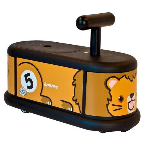 цена на Каталка-толокар Italtrike La Cosa Lion черный/оранжевый